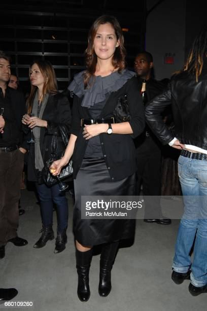 Melissa Skoog attends LOUIS VUITTON Tribute to STEPHEN SPROUSE Exhibition Preview at Deitch Projects on January 8 2009 in New York City