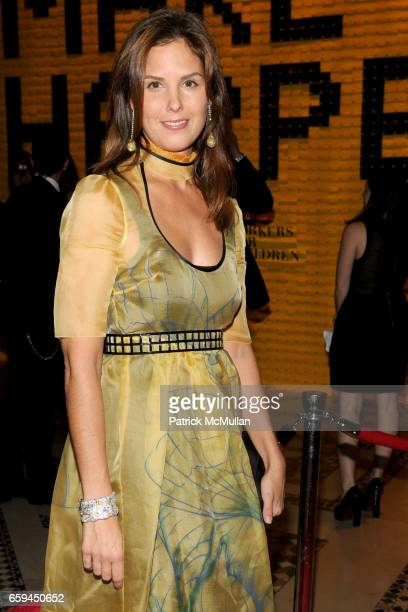 Melissa Skoog attends NEW YORKERS FOR CHILDREN 10th Annual Fall Gala at Cipriani 42nd on September 22 2009 in New York City