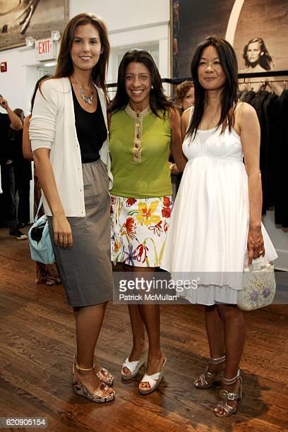 Melissa Skoog, Lisa Anastos and Helen Lee Schifter attend DOLCE & GABBANA Luncheon and Fall 2008 FASHION PRESENTATION Hosted by Samantha Boardman...