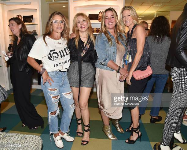 Melissa Spohler Nancy Slagowitz Claudia Bell and Amy Tapper attend JMcLaughlin Fall Kickoff Benefiting Project ALS at JMcLaughlin on September 13...