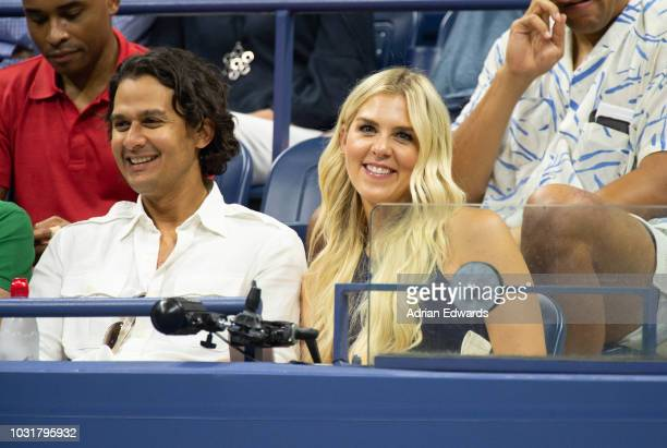 Melissa Stark at Day 10 of the US Open held at the USTA Tennis Center on September 5 2018 in New York City