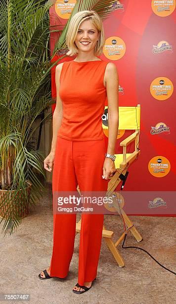 Melissa Stark at the Disney's California Adventure in Anaheim California