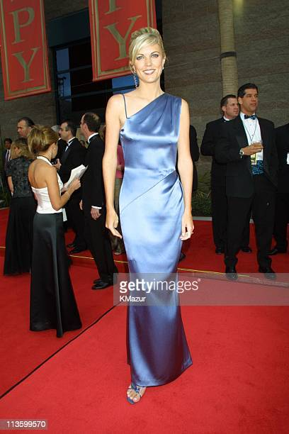 Melissa Stark during 2001 ESPY Awards at MGM Grand Arena in Las Vegas Nevada United States