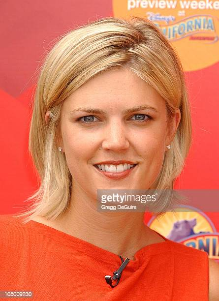 Melissa Stark during ABC Primetime Preview Weekend at Disney's California Adventure in Anaheim California United States