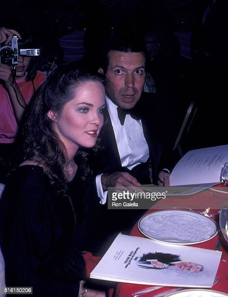 Melissa Sue Anderson and Frank Sinatra Jr attend Variety International Humanitarian Award Honoring Frank Sinatra on April 24 1980 in Beverly Hills...
