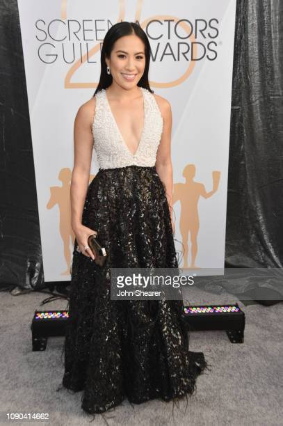 Melissa Tang attends the 25th Annual Screen ActorsGuild Awards at The Shrine Auditorium on January 27 2019 in Los Angeles California
