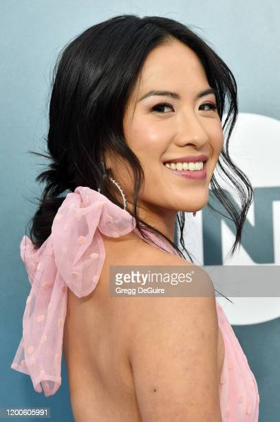 Melissa Tang attends the 26th Annual Screen ActorsGuild Awards at The Shrine Auditorium on January 19 2020 in Los Angeles California 721430