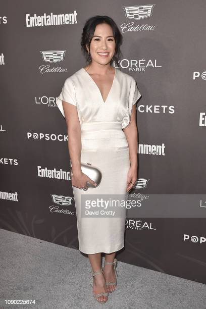 Melissa Tang attends the Entertainment Weekly PreSAG Party Arrivals at Chateau Marmont on January 26 2019 in Los Angeles California