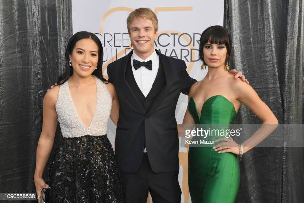 Melissa Tang Graham Rogers and Jenna Lyng Adams attend the 25th Annual Screen ActorsGuild Awards at The Shrine Auditorium on January 27 2019 in Los...