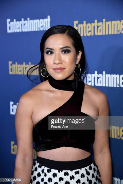 Melissa Tang is seen as Entertainment Weekly Celebrates Screen Actors Guild Award Nominees at Chateau Marmont on January 18 2020 in Los Angeles...