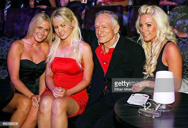 Melissa Taylor Anna Berglund Playboy founder Hugh Hefner and Crystal Harris attend the adult productionPEEPSHOW starring Hefner's former girlfriend...