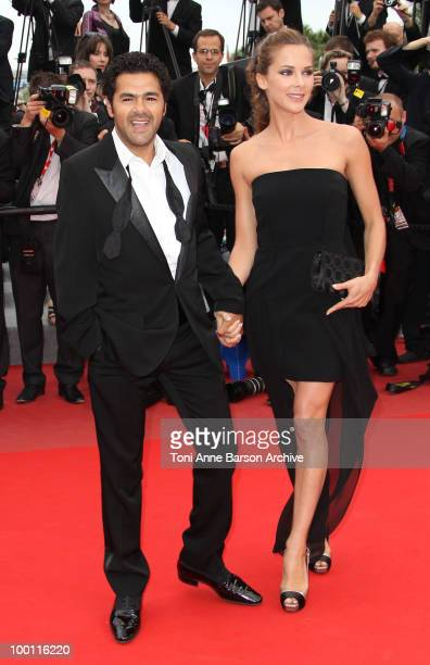 Melissa Theuriau and Jamel Debbouze attend the 'Outside the Law' Premiere at the Palais des Festivals during the 63rd Annual International Cannes...