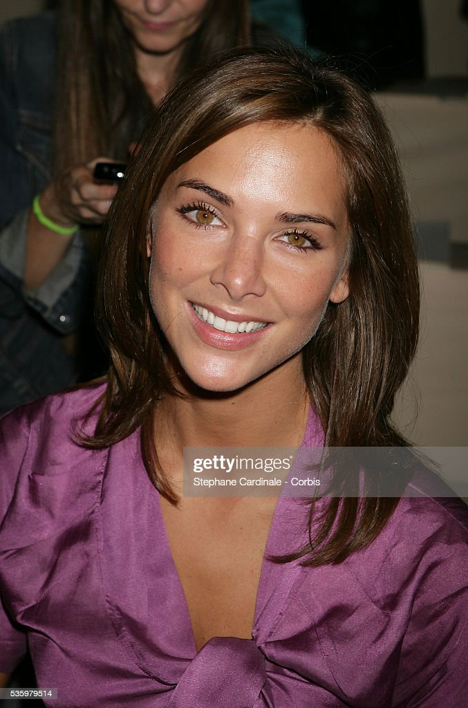Melissa Theuriau at the 'Celine ready-to-wear Spring-Summer 2006 collection' fashion show.
