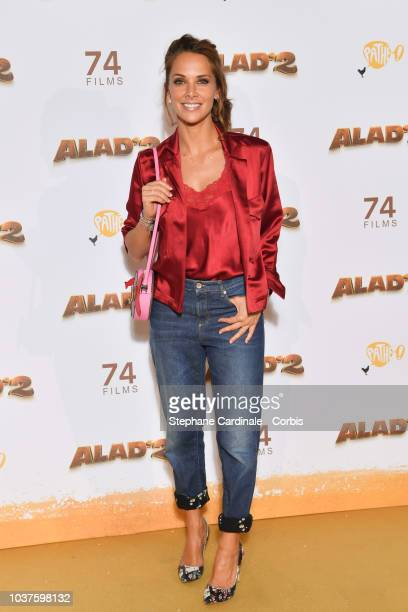 Melissa Theuriau attends Alad'2 Paris Premiere at Le Grand Rex on September 21 2018 in Paris France