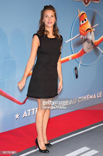 Melissa Theuriau attends the 'Planes' Paris Premiere At UGC Normandie on September 24 2013 in Paris France