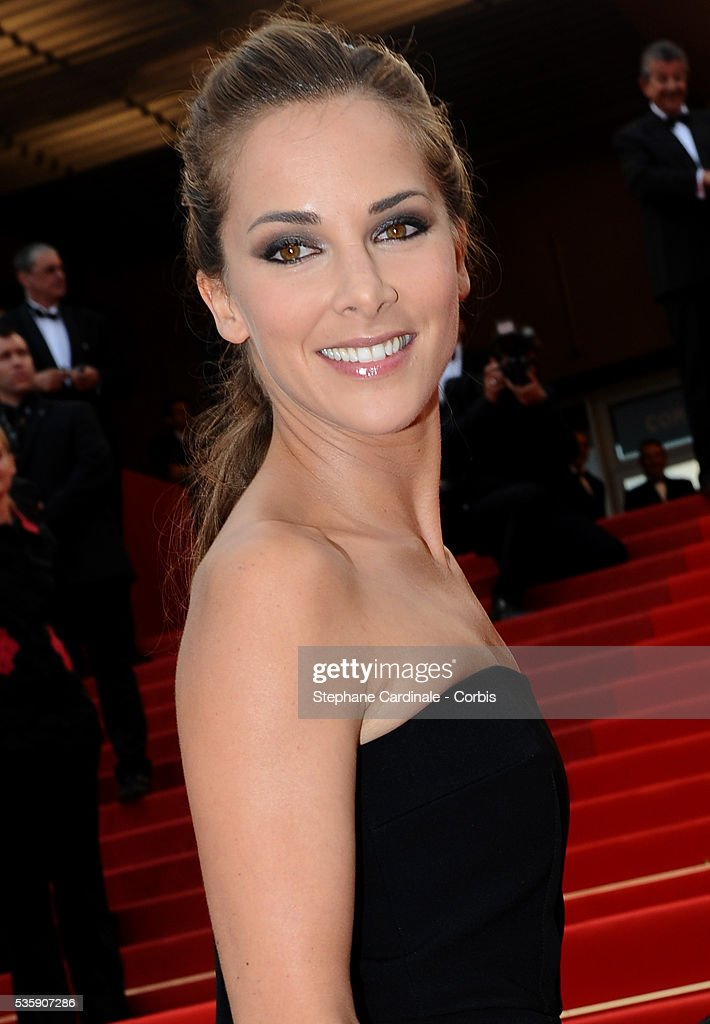 Melissa Theuriau attends the Premiere of 'Outside of the law' during the 63rd Cannes International Film Festival