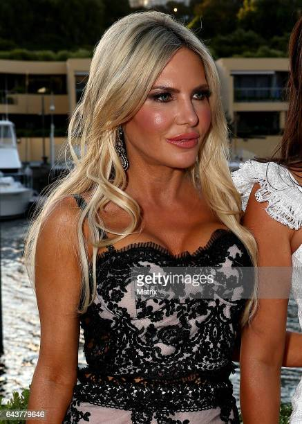 Melissa Tkautz at The Real Housewives of Sydney launch on February 21 2017 in Sydney Australia