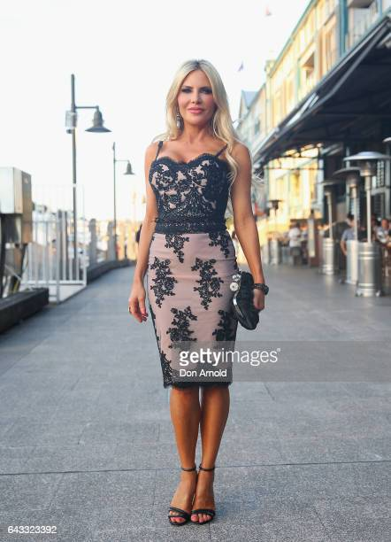 Melissa Tkautz attends The Real Housewives of Sydney Launch Event at Otto restaurant on February 21 2017 in Sydney Australia