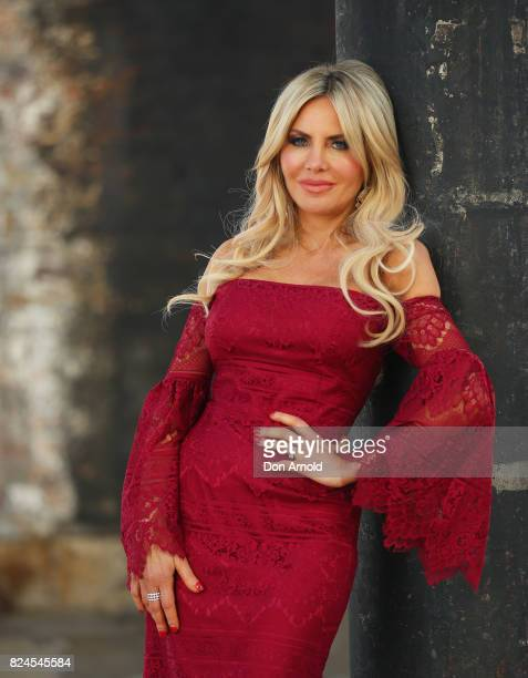 Melissa Tkautz poses after a panel discussion'Real Housewives' at the Video Junkee 2017 on July 29 2017 in Sydney Australia
