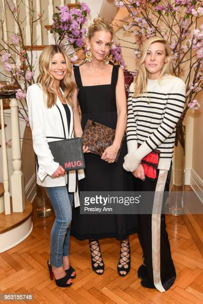 Melissa Urfirer Gottesman, Meredith Melling and Molly Howard attend Riley Versa x La Ligne Party at 1220 Park Ave. On April 26, 2018 in New York...