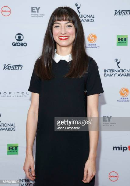 Melissa Villasenor attends 45th International Emmy Awards at New York Hilton on November 20 2017 in New York City