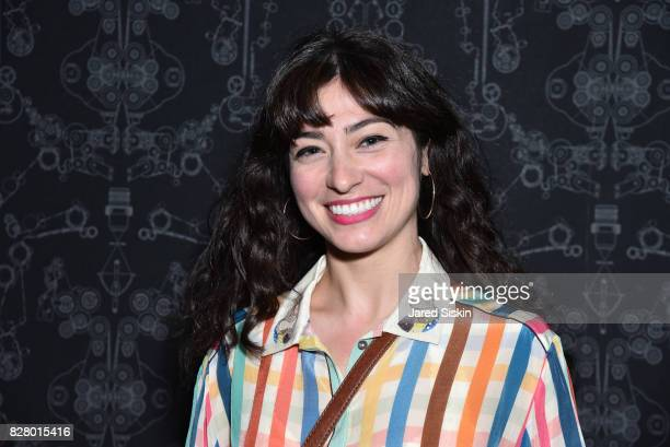 Melissa Villasenor attends Neon hosts the after party for the New York Premiere of 'Ingrid Goes West' at Alamo Drafthouse Cinema on August 8 2017 in...