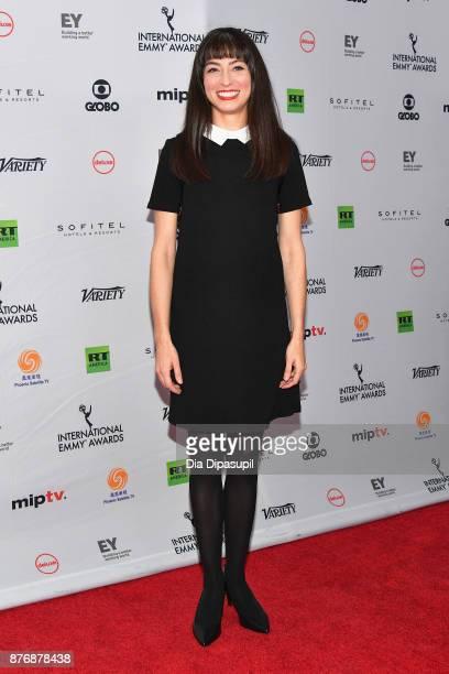 Melissa Villasenor attends the 45th International Emmy Awards at New York Hilton on November 20 2017 in New York City