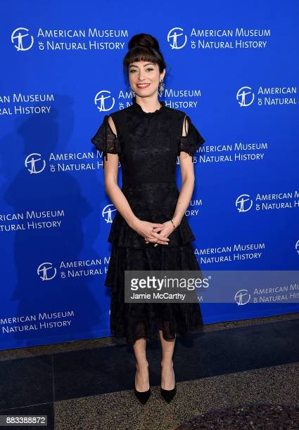 Melissa Villasenor attends the American Museum Of Natural History's 2017 Museum Gala at American Museum of Natural History on November 30 2017 in New...