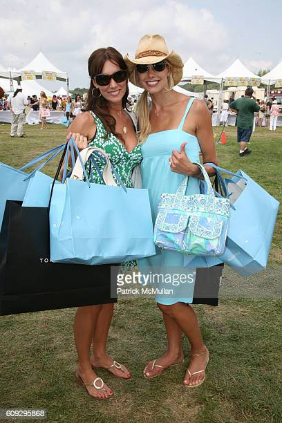 Melissa Zapin and Beth Ostrosky attend KELLY RIPA DONNA KARAN and INSTYLE Host SUPER SATURDAY 10 To Benefit The Ovarian Cancer Research Fund at...