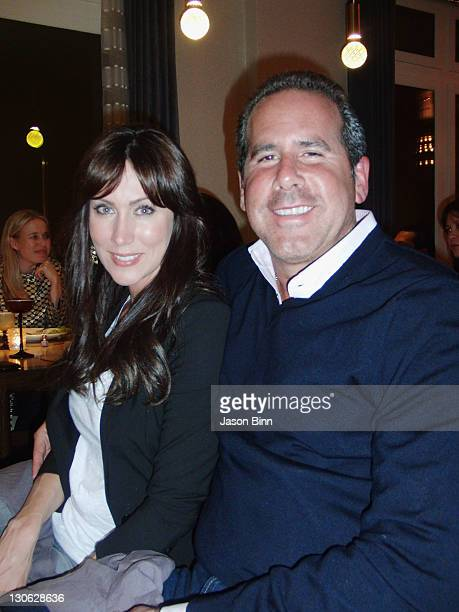 Melissa Zapin and Ross Zapin of Sirius XM Tradio pose circa April 2010 in New York City