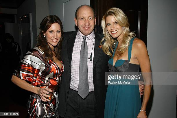 Melissa Zapin Mike Zimet and Beth Ostrosky attend THE CINEMA SOCIETY HUGO BOSS after party for FRACTURE at Gramercy Park Hotel on April 17 2007 in...