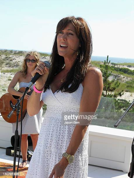 Melissa Zapin sings circa September 2010 in The Hamptons