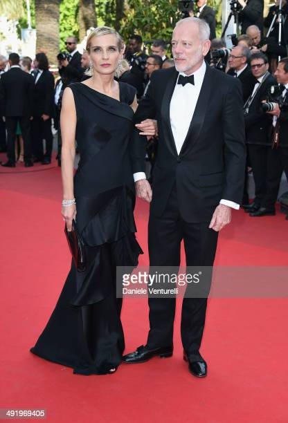 Melita Toscan Du Plantier and Pascal Greggory attend 'The Homesman' Premiere at the 67th Annual Cannes Film Festival on May 18 2014 in Cannes France