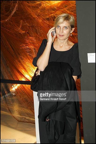 Melita Toscan du Plantier at Retrospective Exhibition Of David Lynch And Exhibition Brune And Blonde At Cinematheque Francaise In Paris
