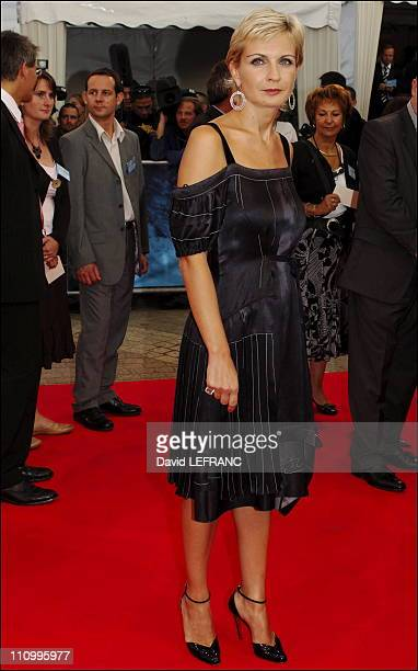 Melita Toscan du Plantier at the 32nd American film festival in Deauville France on September 02nd 2006