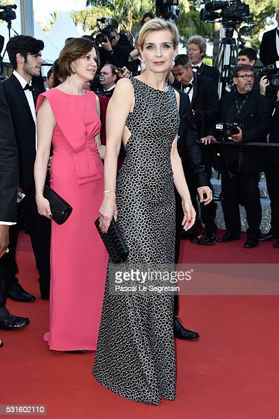 """Melita Toscan du Plantier attends the """"From The Land Of The Moon """" premiere during the 69th annual Cannes Film Festival at the Palais des Festivals..."""