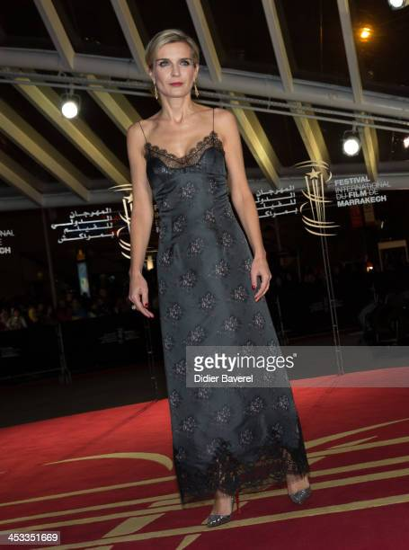 Melita Toscan du Plantier attends the 'Sara' premiere at the 13th Marrakech International Film Festival on December 3, 2013 in Marrakech, Morocco.