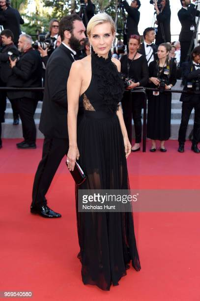 Melita Toscan du Plantier attends the screening of 'Capharnaum' during the 71st annual Cannes Film Festival at Palais des Festivals on May 17 2018 in...
