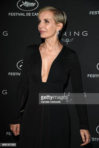 Melita Toscan du Plantier attends the Women in Motion Awards Dinner presented by Kering and the 71th Cannes Film Festival at Place de la Castre on...