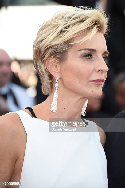 Melita Toscan du Plantier attends the 'Youth' Premiere during the 68th annual Cannes Film Festival on May 20 2015 in Cannes France