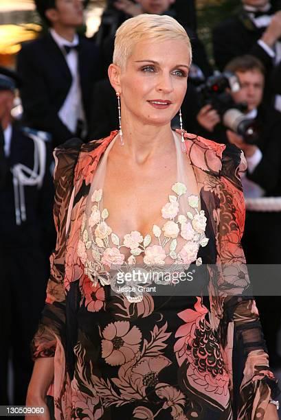 Melita Toscan du Plantier during 2007 Cannes Film Festival 'Zodiac' Premiere at Palais de Festival in Cannes France