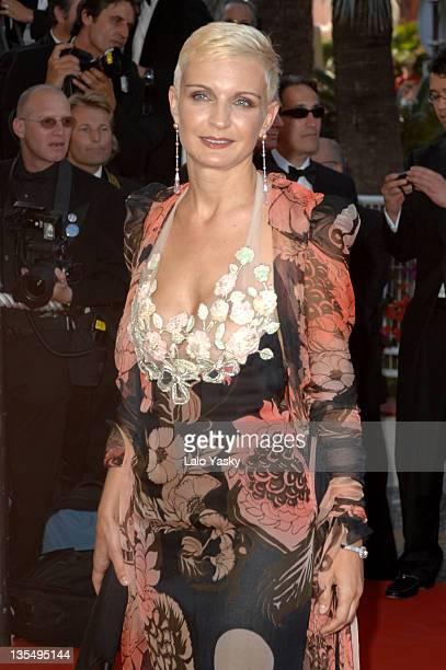 Melita Toscan du Plantier during 2007 Cannes Film Festival Zodiac Premiere at Palais de Festival in Cannes France