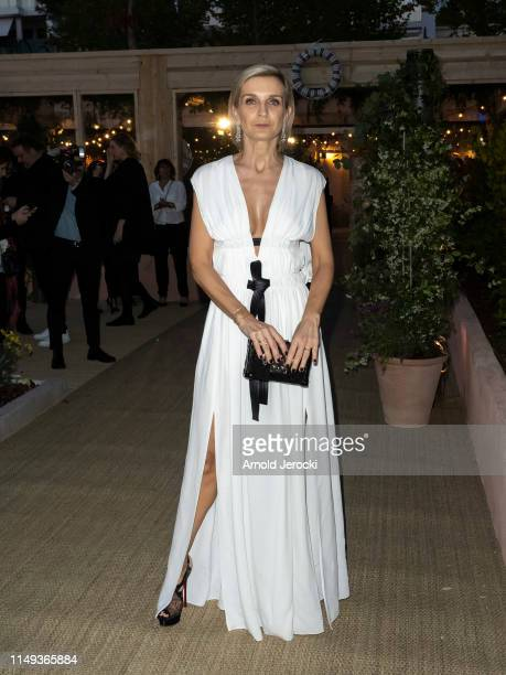 Melita Toscan du Plantier is seen at the Dior Dinner during the 72nd annual Cannes Film Festival on May 15 2019 in Cannes France