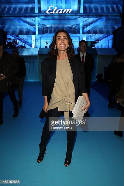 Melle Agnes attend The ETAM show as part of the Paris Fashion Week Womenswear Fall/Winter 2015/2016 at Piscine Molitor on March 3 2015 in Paris France