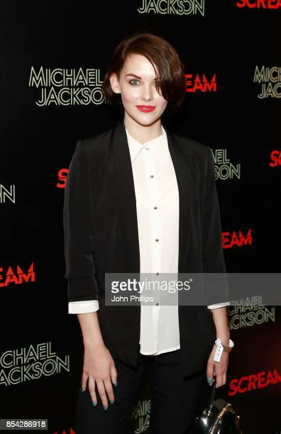 Mellisa Clarke attends the Michael Jackson's 'Scream' album launch after party at The Freemason's Hall on September 26 2017 in London England