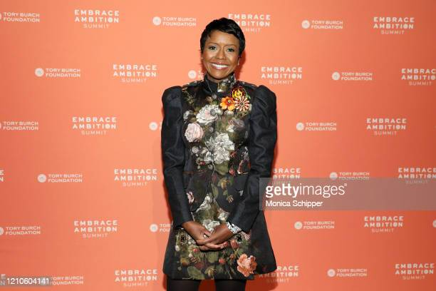 Mellody Hobson, Co-CEO & President, Ariel Investments during the 2020 Embrace Ambition Summit by the Tory Burch Foundation at Jazz at Lincoln Center...