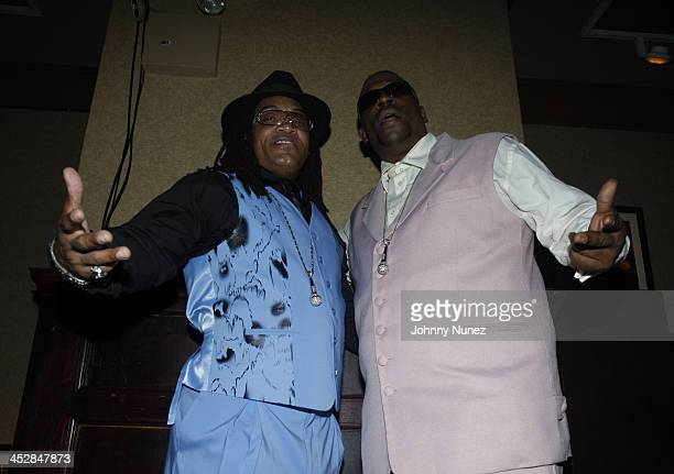 Melly Mel and Grandmaster Caz attend Vaughn Anthony's Birthday Bash Hosted by John Legend on May 22 2008 in New York City