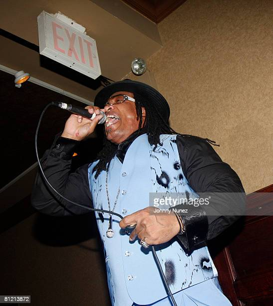Melly Mel performs at Vaughn Anthony's Birthday Bash Hosted by John Legend on May 22 2008 in New York City