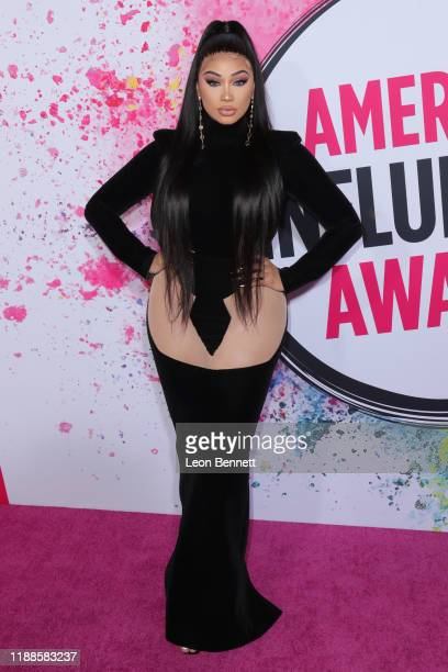 Melly Sanchez attends 2019 American Influencer Awards at Dolby Theatre on November 18 2019 in Hollywood California