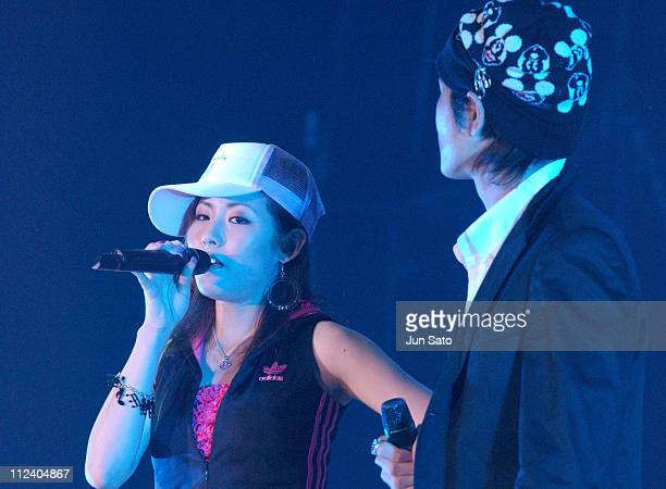 Melody. And Kyohei Yamamoto during MTV The Super Dry Live 2004 at National Yoyogi Gymnasium in Tokyo, Japan.
